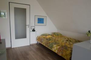 Die zweite Schlafgelegenheit im Wohnbereich: 140x200.
